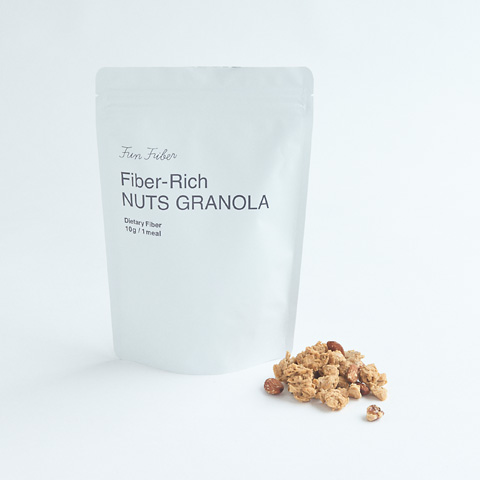 Fiber-Rich NUTS GRANOLA ナッツグラノーラ