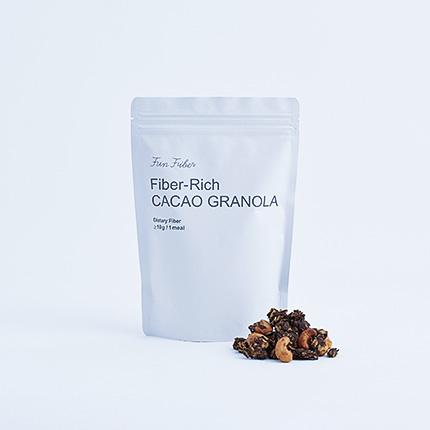 カカオグラノーラ 1食で10gの食物繊維