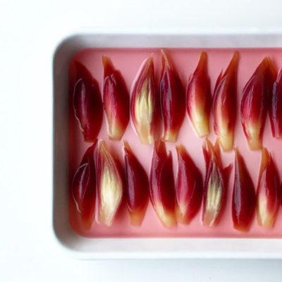 旬の食物繊維「茗荷」の甘酢漬け お稲荷さん